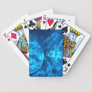 blu bubbles bicycle playing cards