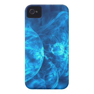blu bubbles iPhone 4 cover