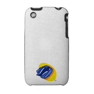 Blu Jacket's Blue Jacket iPhone 3 Case
