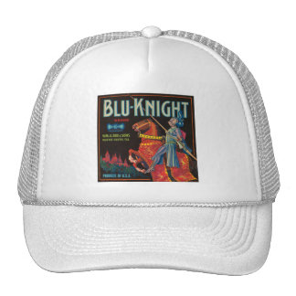 Blu Knight Vintage Crate Label Hats