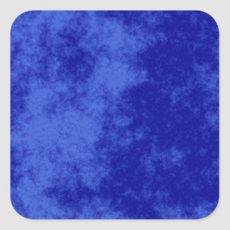 Blue1 Soft Grunge Design Square Sticker