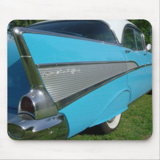 Blue 1957 Chevy Mousepad