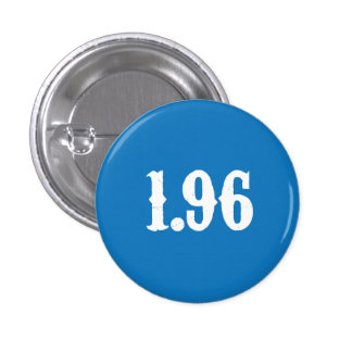 Blue 1.96 Button