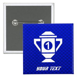Blue 1st Place Trophy Pin