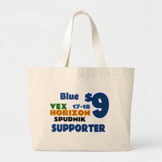 Blue ($9) large tote bag