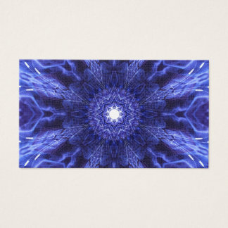Blue Abstract Ancient Art Business Card