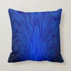 Blue Abstract Art Cushion