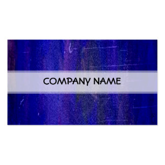 Blue Abstract Art Painting Pack Of Standard Business Cards