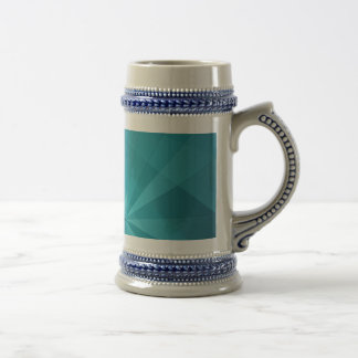 Blue abstract background beer steins