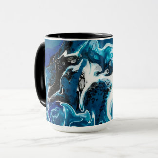 Blue Abstract Coffee Mug