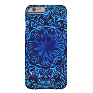 Blue Abstract Flower iPhone 6 Case