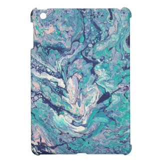 "Blue Abstract iPad Mini Case - ""Hidden Secrets"""