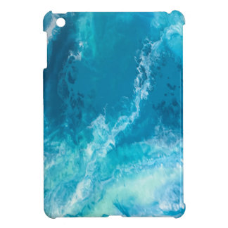 "Blue Abstract iPad Mini Case - ""Ocean Dreams"""