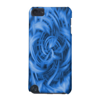 Blue Abstract iPod Case