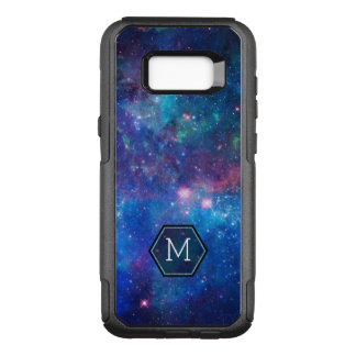 Blue Abstract Night Sky Stars & Sparkles OtterBox Commuter Samsung Galaxy S8+ Case