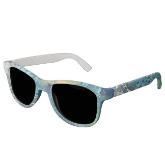 Blue Abstract No. 4 Sunglasses