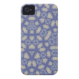 Blue Abstract Pattern blackberry bold Case