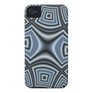 Blue Abstract Pattern iPhone 4 Case-Mate Cases