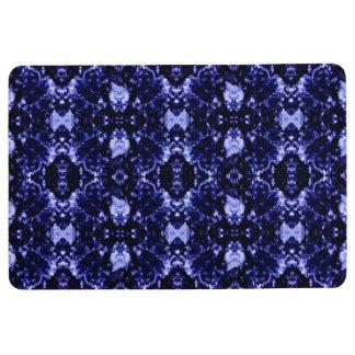 Blue Abstract Pattern Floor Mat