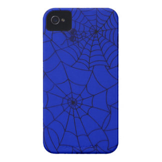 Blue Abstract Spider Webs Blackberry Bold Case. iPhone 4 Case-Mate Cases