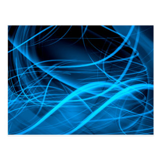 blue abstract wave shiny energy background postcard