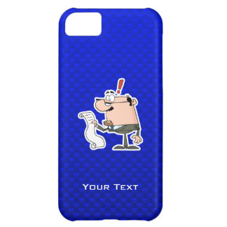 Blue Accountant iPhone 5C Case