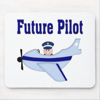 Blue Aeroplane Future Pilot Mouse Pads