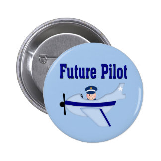 Blue Aeroplane Future Pilot Pin
