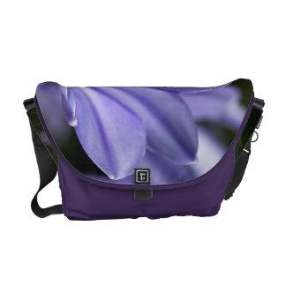 Blue Agapanthus Dreaming Medium Messenger Bag