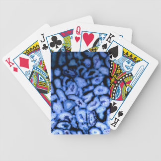 Blue Agate Bicycle Playing Cards