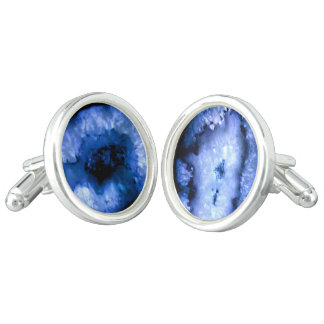 Blue Agate Cufflinks