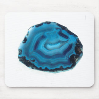 Blue Agate Mouse Pad
