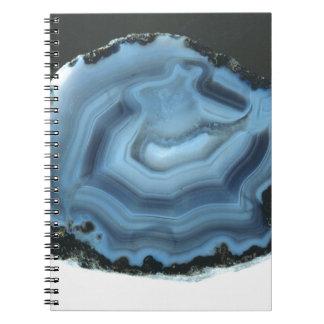 Blue Agate Notebook