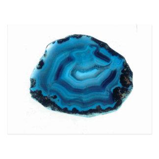Blue Agate Postcard