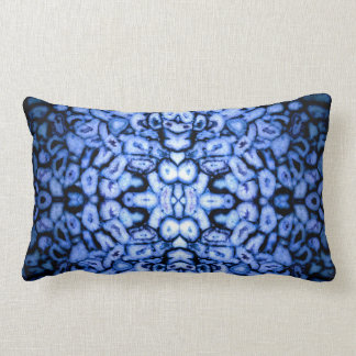 Blue Agates Lumbar Cushion
