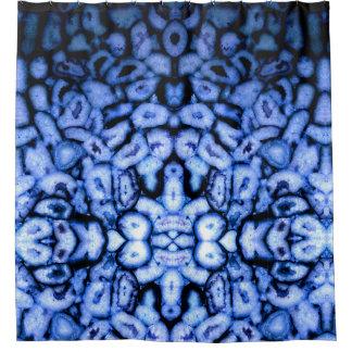 Blue Agates Shower Curtain