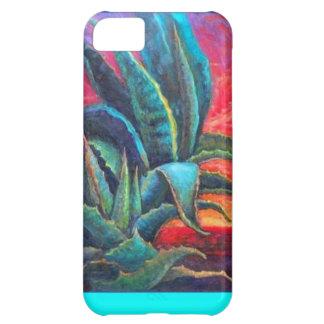 Blue Agave Cacti Sunrise by Sharles iPhone 5C Case