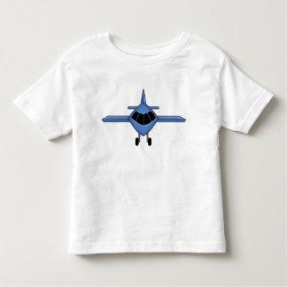 Blue Airplane Toddler T-Shirt