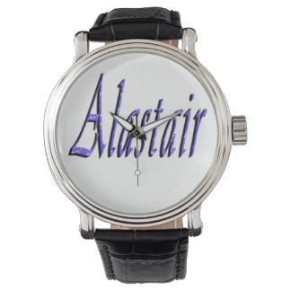 Blue Alastair Name Logo, Watch