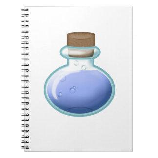 Blue Alchemy Bottle Notebooks