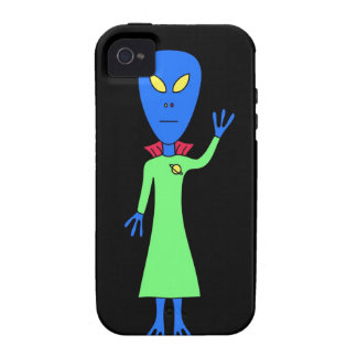 Blue Alien iPhone Case iPhone 4 Covers