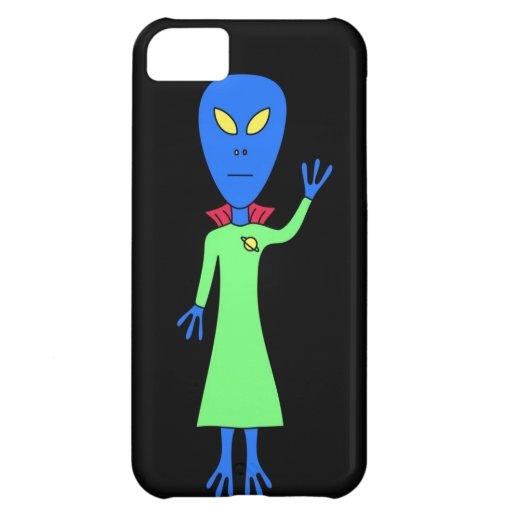 Blue Alien iPhone Case iPhone 5C Covers