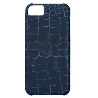 blue alligator skin iPhone 5C case