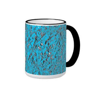 Blue Aluminum Coffee Mugs