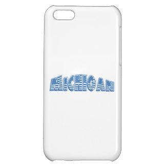 Blue American Flag Michigan iPhone 5C Covers
