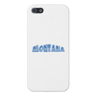 Blue American Flag Montana Case For iPhone 5