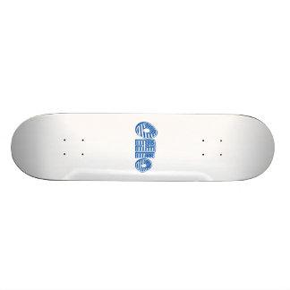 Blue American Flag Ohio Custom Skate Board