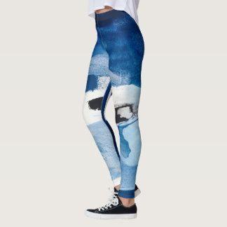 Blue Amore II Leggings