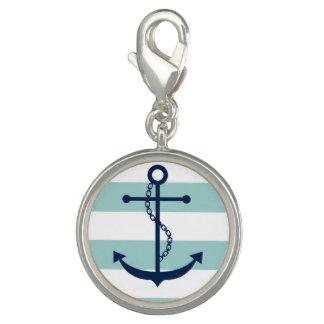 Blue Anchor Charm