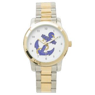 Blue Anchor Watch